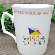 The Peninsular & Oriental Steamship Company Commemorative Mug