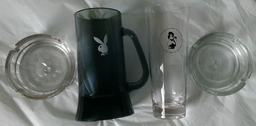 Vintage Playboy Barware Set