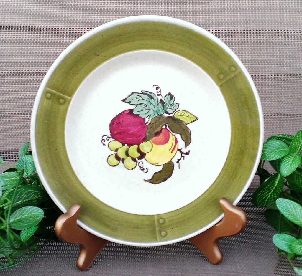 Metlox Poppytrail Provincial  Fruit Salad Plates (4)
