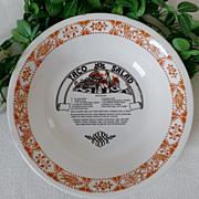Royal China Garden Classics Taco Salad Recipe Bowl