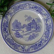 Syracuse China Mayfair Blue Dinner Plate