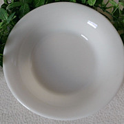 Corning Military Ivory Serving Bowl 9 3/4""