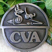 Connecticut Valley Arms Belt Buckle 1978