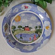 Nikko Remember When Dinner Plate