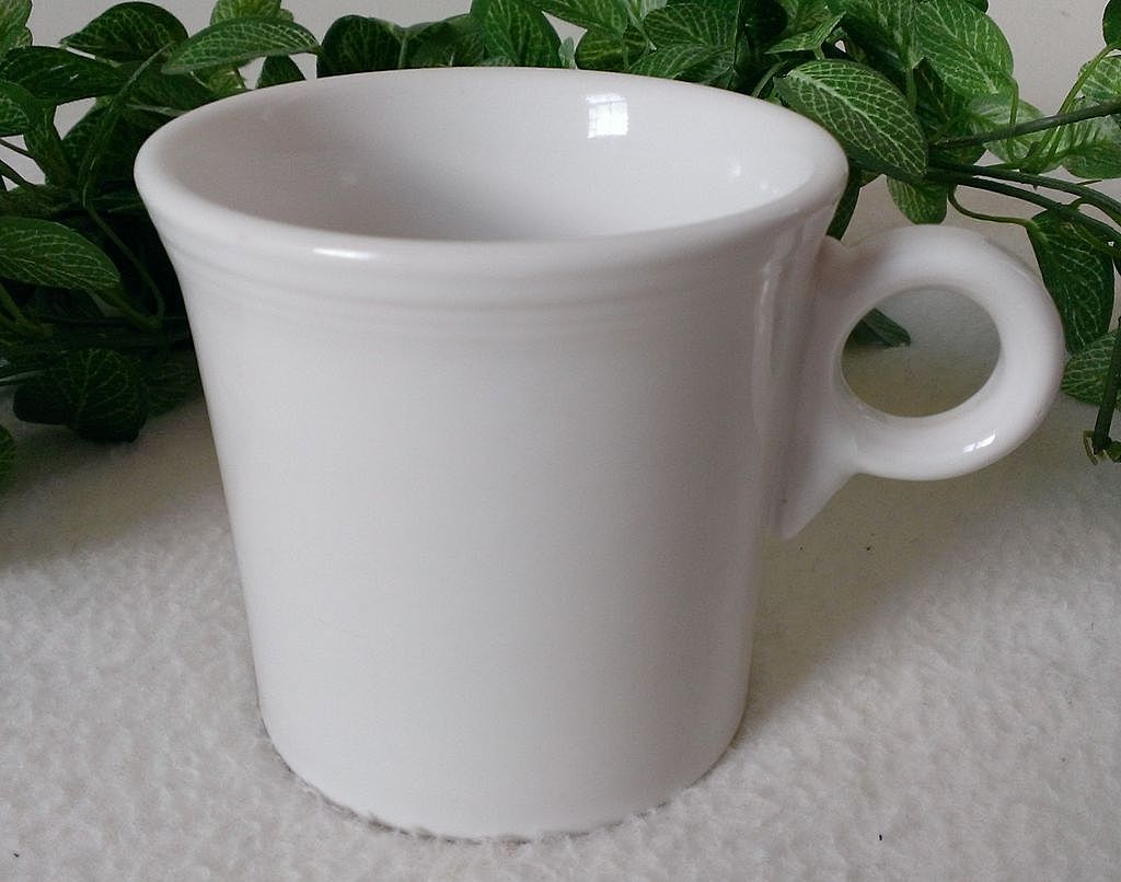 Homer Laughlin Fiesta White Mug