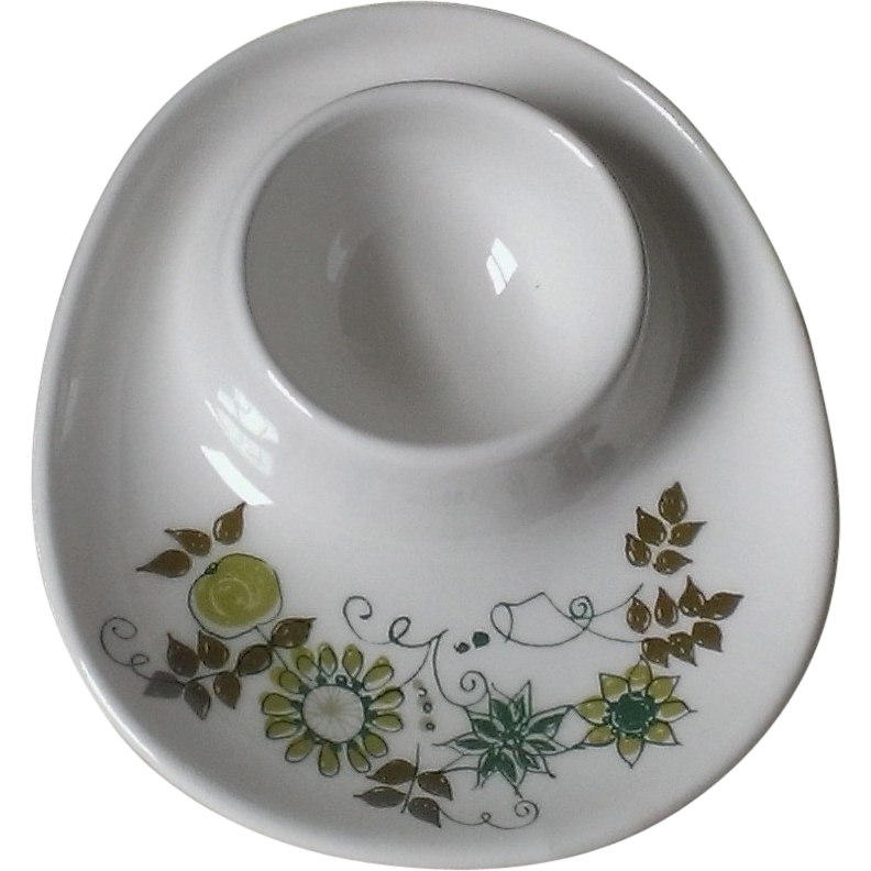 "Figgio Flint Turi Design ""Market"" Pattern Eggcup"