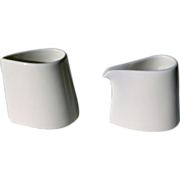Fortessa Fine Bone China Cylindrical Creamer Set