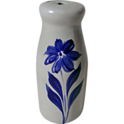 Williamsburg Pottery Salt Glaze Stoneware Sugar Shaker