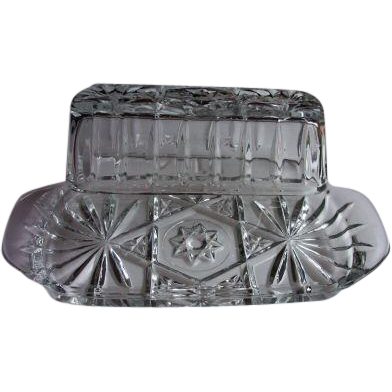 Anchor Hocking EAPC Prescut Butter Dish