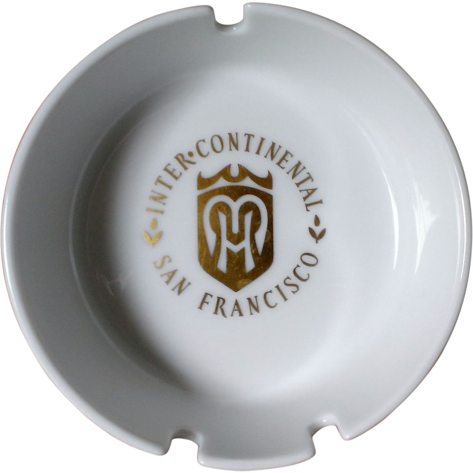 intercontinental Hotel San Francisco Ashtray