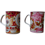 "Royal Doulton Expressions ""Afternoon Tea"" Mug Set"