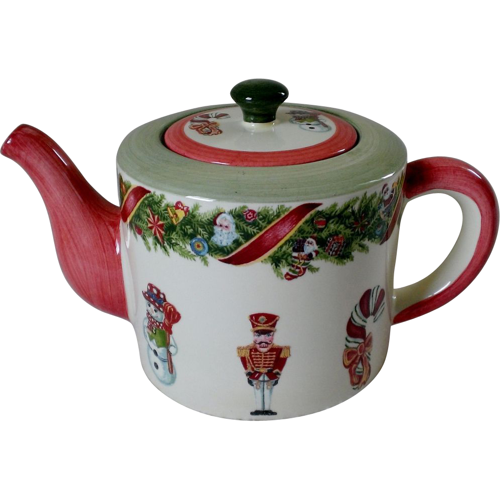 "Christopher Radko ""Christopher's Tree"" Teapot by Zrike"
