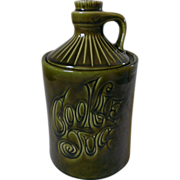 McCoy Cookie Jug / Green Cookie Jar