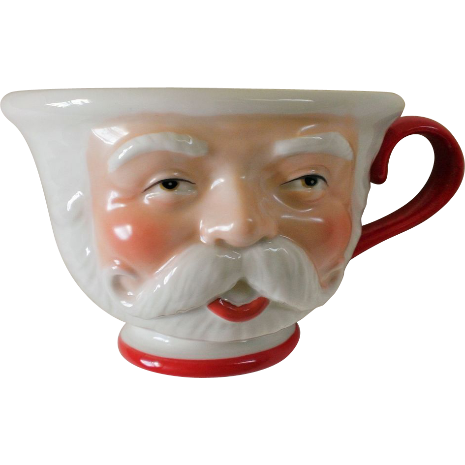 Dept 56 Santa Claus Ho Ho Ho Mug