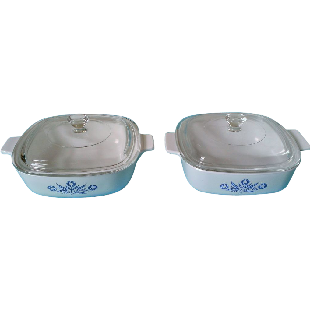 Corning Cornflower Blue 1 Qt Casserole