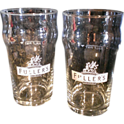 Fullers Griffen Brewery Pint Glass Set of 2
