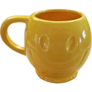 McCoy Happy Face Smiley Face Mug