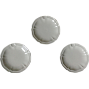 Villeroy & Boch Manoir Ashtray Set of 3