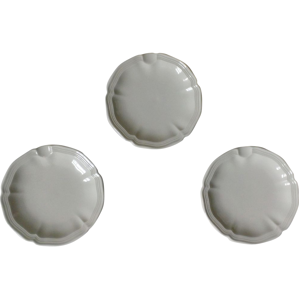Villeroy boch manoir ashtray set of 3 from anniesavenue - Boch and villeroy ...