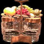 Dickinson's Jellies & Jam Condiment Caddy
