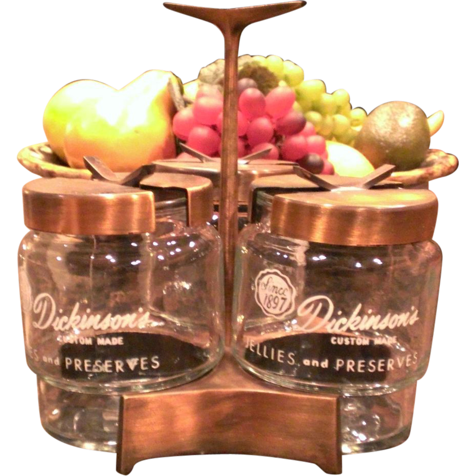 Dickinson's Jellies & Jam Condiment Caddy