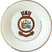 Royal Princess 1984 Christening Plate by Royal Doulton