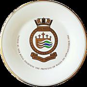 Royal Princess 1984 Christening Plate by Royal Doulton