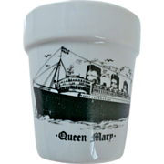 Queen Mary Flower Pot Ship Souvenir