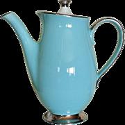 Taylor Smith Taylor Platinum Blue Coffee Pot & Lid