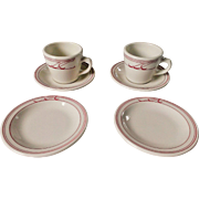 Homer Laughlin Restaurant Ware Alpena 6 Piece Set
