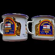Pusser's Rum Enamel Cup Set