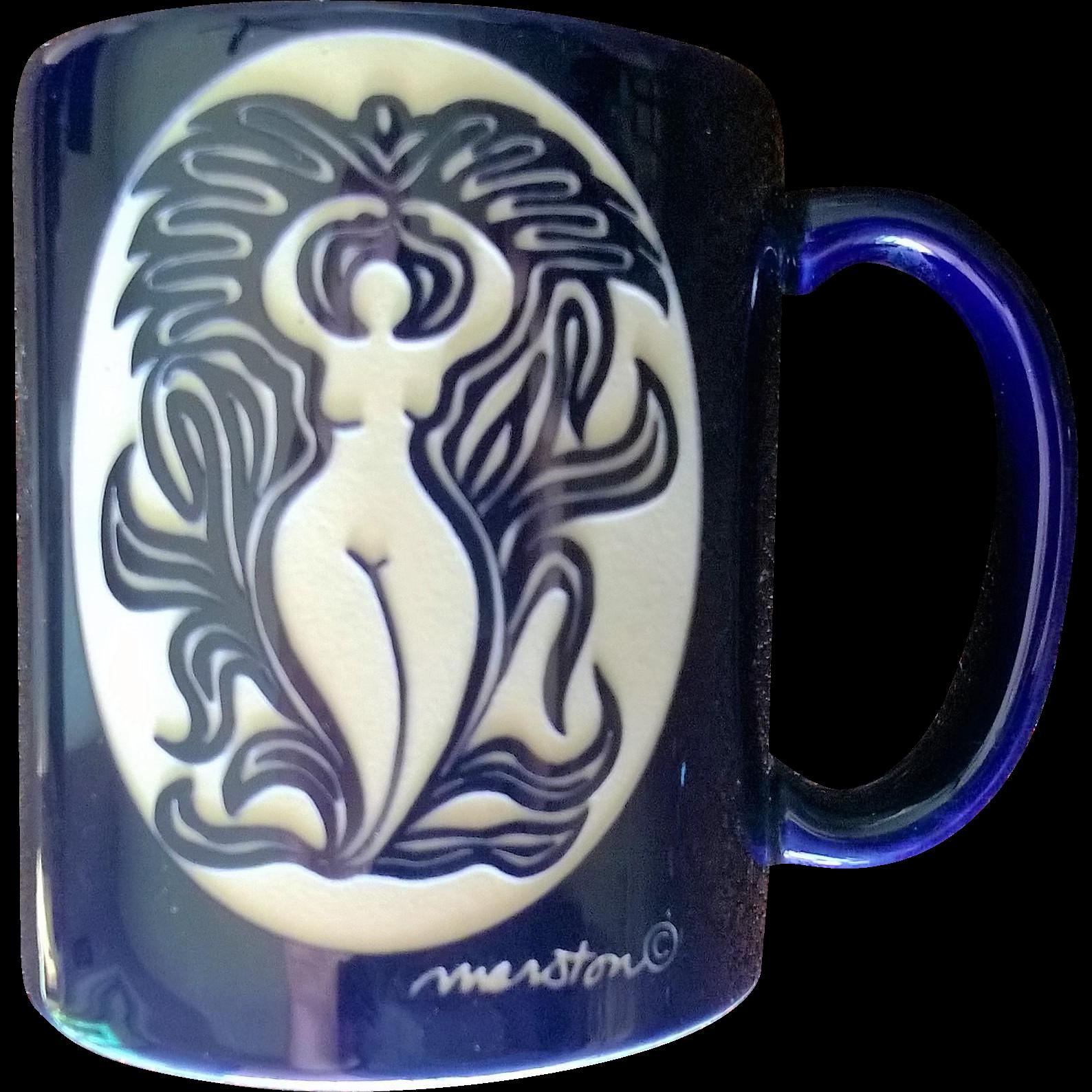 Goddess of Beauty Mug by Anne Marston