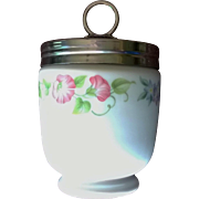 Royal Worcester English Garden King Sized Egg Coddler