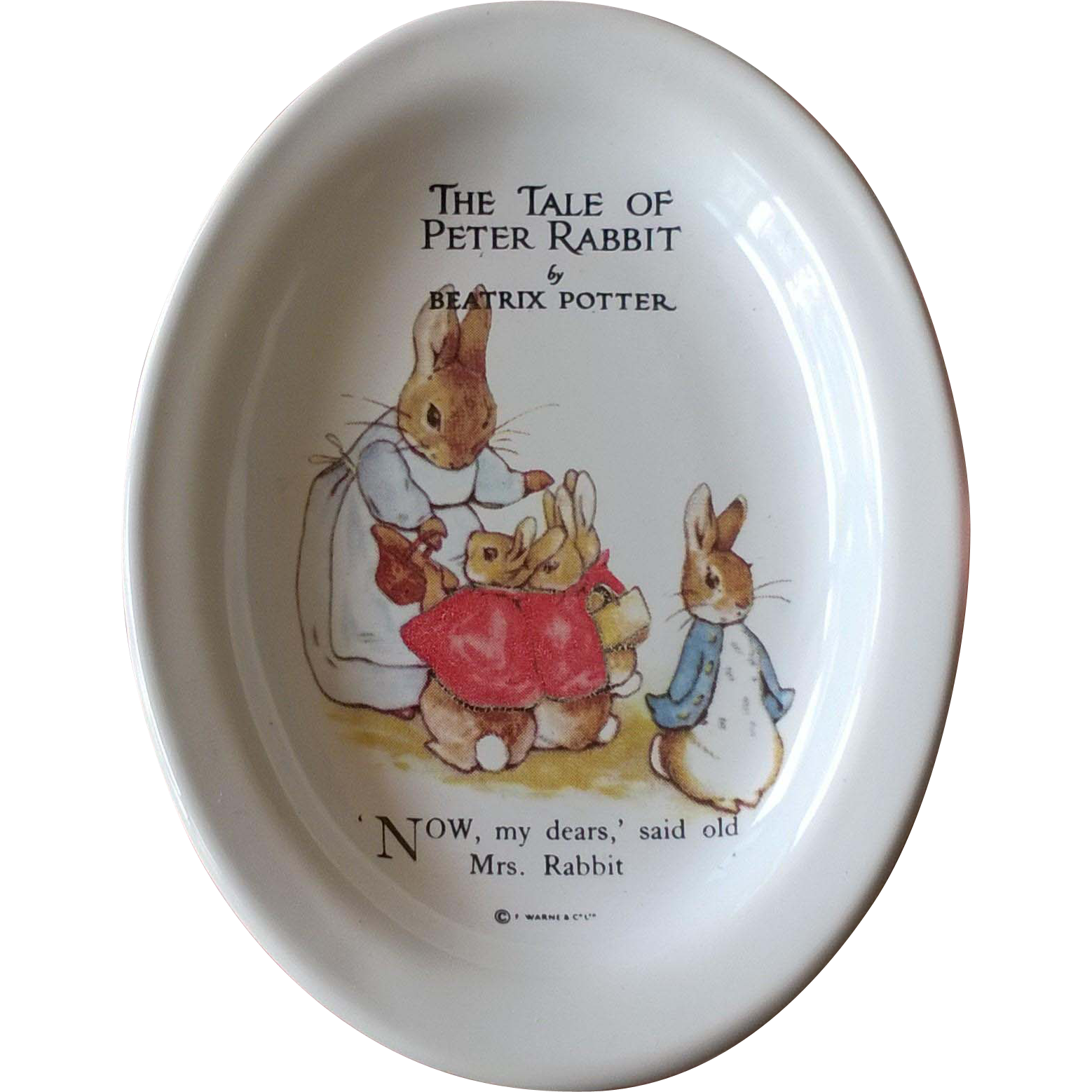 Beatrix Potter Peter Rabbit Soap Dish