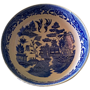 Vintage Blue Willow Vegetable Bowl