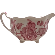 Johnson Brothers English Chippendale Red Pink Creamer