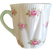 Shelley Rosebud Demitasse Cup