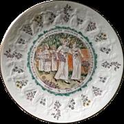Royal Doulton 1977 Virgo Almanack Kate Greenaway Plate