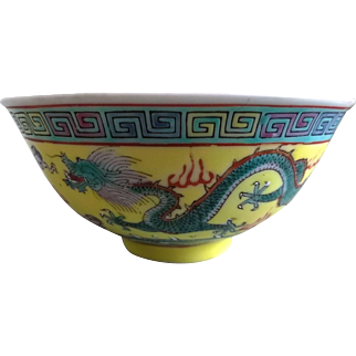 China Jingdezhen Dragon Drinking Cup / Bowl