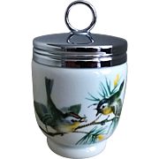 Royal Worcester King Size Egg Coddler Birds