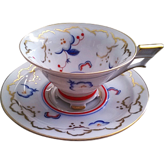 Weimar China Cup & Saucer Pattern 5062