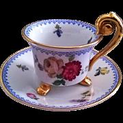 Thomas of Bavaria Footed Demitasse Cup & Saucer Pattern #3239