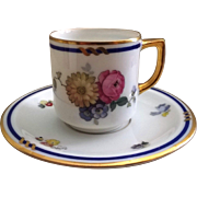 Thomas of Bavaria Demitasse Cup & Saucer Pattern #3207