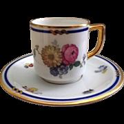 Thomas of Bavaria Demitasse Cup & Saucer Pattern #3207