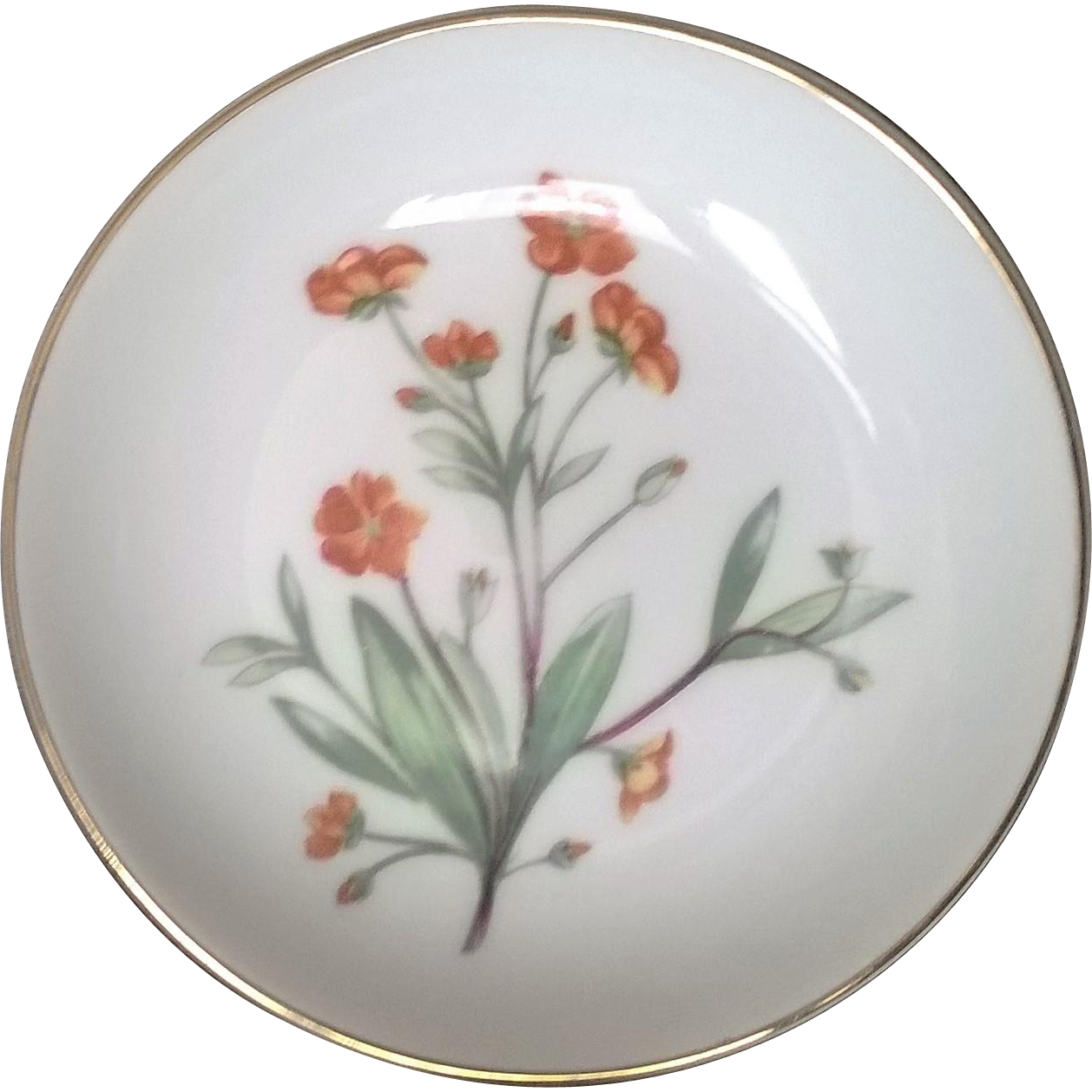 Royal Doulton Floral Pattern Pin Dish