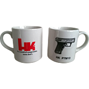 Heckler & Koch Advertising Coffee Mug Set