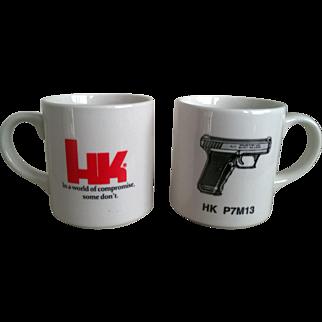 Heckler & Koch Advertising Coffee Mug Set