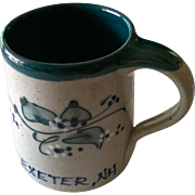 "Great Bay Pottery ""Exeter NH"" Coffee Mug"