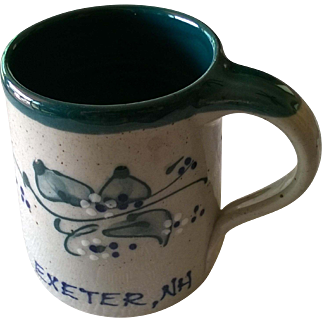 "Great Bay Pottery ""Exeter NH"" Coffee Mug"