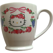 Hello Kitty Mug 1976-2002